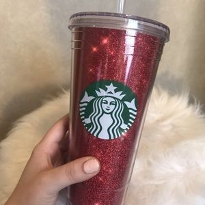 Red Glitter Starbucks Venti Tumbler